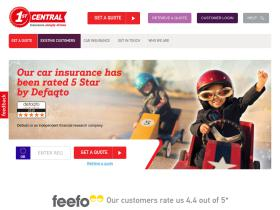 1st Central Insurance discount code