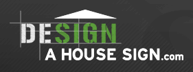 Design A House Sign discount code